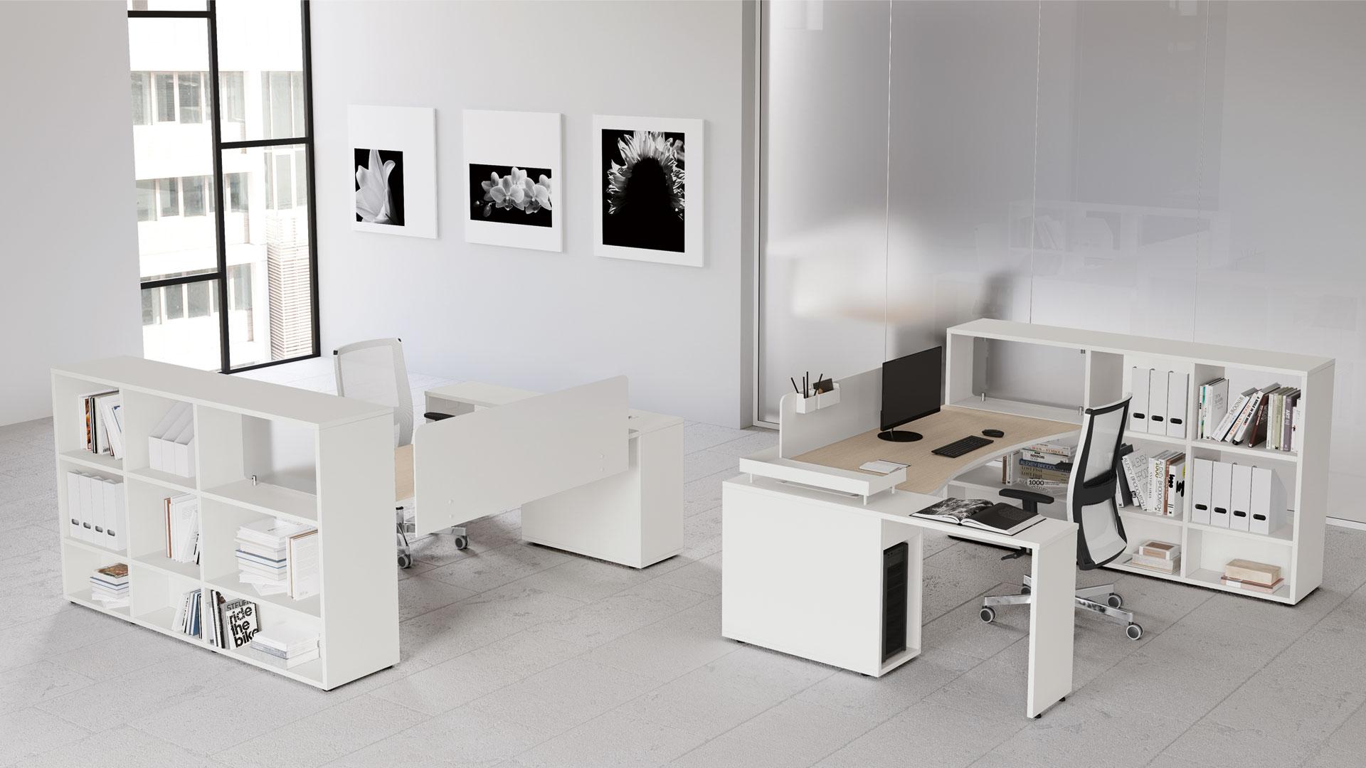 bureau logic las mobili seloma amenagement mobilier. Black Bedroom Furniture Sets. Home Design Ideas