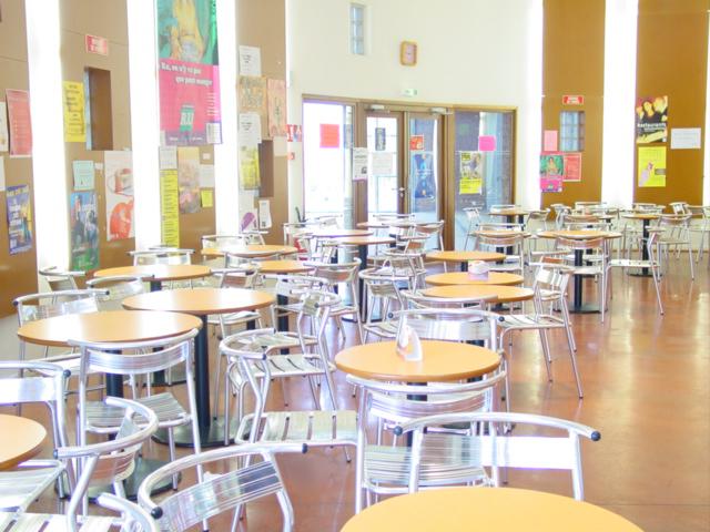 Caf t ria de la maison des etudiants poitiers 86 for Mobilier bureau etudiant