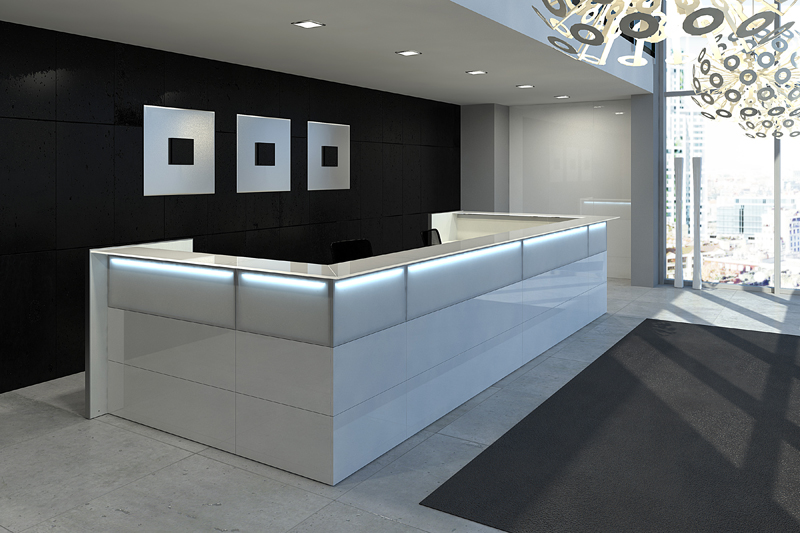 banque d 39 accueil nice las mobili seloma amenagement. Black Bedroom Furniture Sets. Home Design Ideas