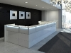 Banque d'accueil design NICE