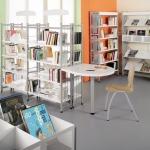 Mobilier de CDI, bibliothèque, médiathèque